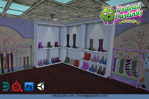 Undead Darling - Shoe Store