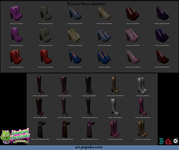 Undead Darlings Women Shoes catalogue