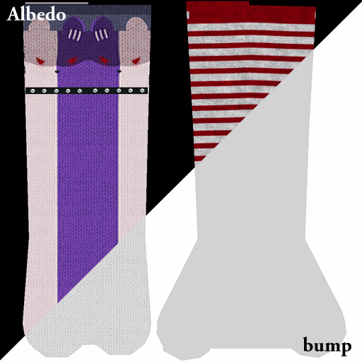 Women socks textures